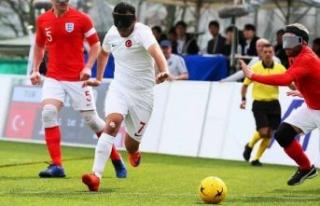 Görme Engelliler B1 Futbol Milli Takımı 5'inci...