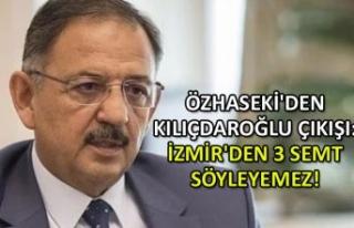 Özhaseki'den Kılıçdaroğlu çıkışı: İzmir'den...