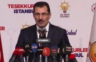 AK Parti'den İstanbul için yeni bir açıklama...