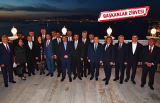 Başkanlar Tarihi Asansör'de buluştu
