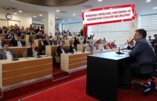 Bayraklı'da ilk meclis toplandı
