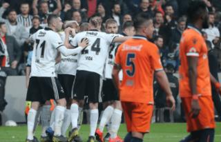 Beşiktaş, Başakşehir'i devirdi!