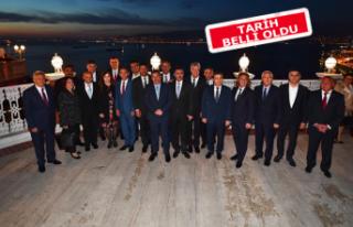 CHP'li ve İYİ Partili belediye başkanları...
