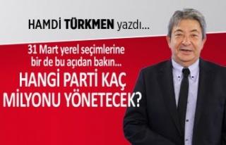 Hamdi Türkmen yazdı: Hangi parti, kaç milyonu yönetecek?