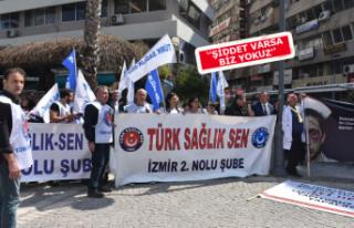 İzmir'de sağlık çalışanlarından acil önlem...