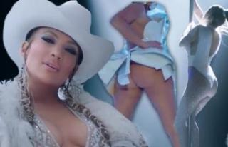 Jennifer Lopez yeni klibi Medicine için çok cesur!