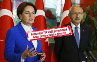 Kılıçdaroğlu Akşener'den ortak açıklama:...