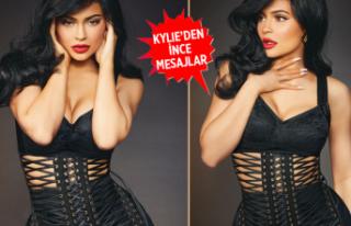 Kylie Jenner'dan seksi pozlar