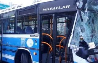 Özel halk otobüsü kaza yaptı: Çok sayıda yaralı