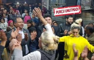 Purçu'dan Romanlar Günü kutlaması