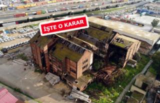 Tarihi Elektrik Fabrikası için karar verildi