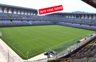 Tire Stadı'nın adı değişti