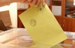 23 Haziran seçimi için sorgu ekranı açıldı