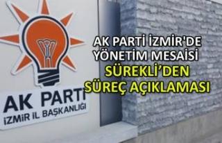 AK Parti İzmir'de yönetim mesaisi