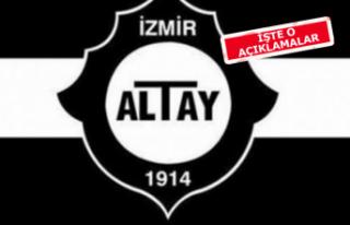 Altay'da Ekmekçioğlu'ndan stat savunması