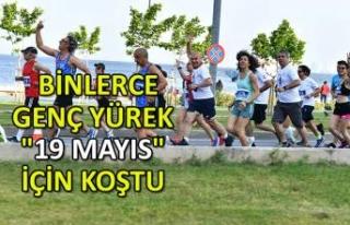"""Binlerce genç yürek """"19 Mayıs"""" için..."""