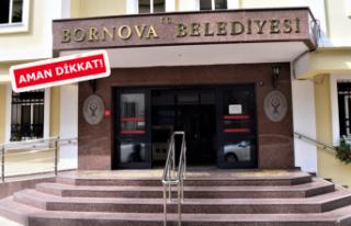 Bornova Belediyesi'nden dolandırıcılara karşı...