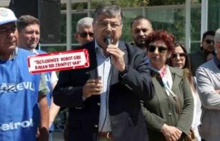 CHP'li Sındır'dan TÜPRAŞ eylemine destek