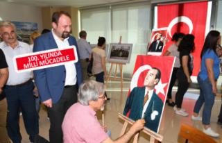 Çİğli'de Atatürk sergisi ve Milli Mücadele...