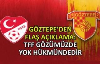Federasyon kararı sonrası Göztepe'den flaş...
