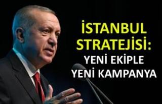 İstanbul stratejisi: Yeni ekiple yeni kampanya