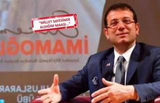 İzmirli o başkan maaşını İmamoğlu'na bağışladı