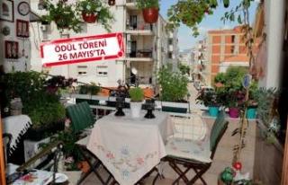 Karşıyaka, en güzel balkon ve bahçesini seçiyor