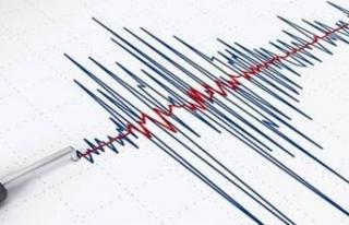 Manisa'nın Soma ilçesinde korkutan deprem