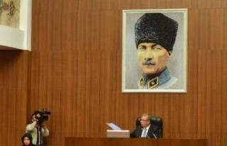Mansur Yavaş'tan 'Kalpaklı Atatürk'...