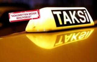 ÖTV'de süre doluyor, taksiciler kalıcı çözüm...