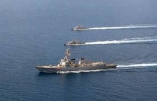 ABD Umman Körfezi'ne savaş gemisi gönderdi