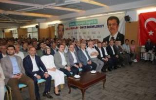 """AK Parti İzmir bayramlaşmasında """"Yıldırım""""..."""