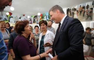 Başkan Tugay'dan anlamlı ziyaret