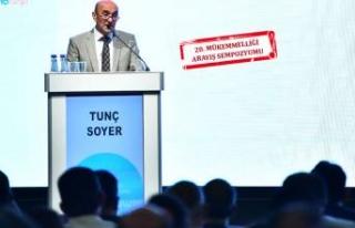 """""""Biz İzmir için karar verirken geçmişi de..."""