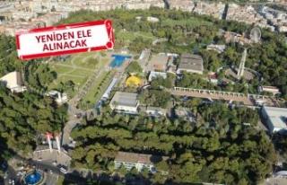 Büyükşehir'den Kültürpark için 'imar...