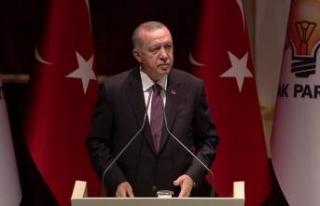 Erdoğan'dan çarpıcı çıkış