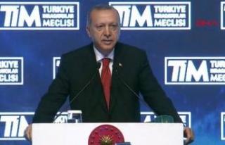 Erdoğan'dan ihracatçılara müjde