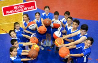 İzmir Büyükşehir Belediyesi yaz spor okulları...