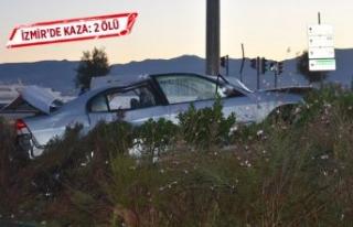 İzmir'de kaza: 2 ölü