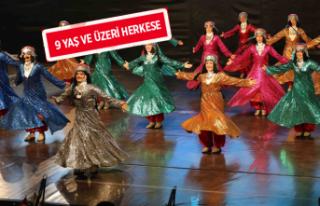 Karşıyaka Belediyesi'nden ücretsiz halk dansları...