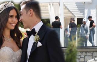 Mesut Özil'in villasına büyük ilgi