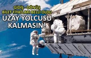 Uluslararası Uzay İstasyonu'na gidiş-dönüş...