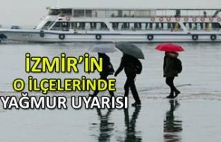 Yağmur geliyor! İzmir dikkat
