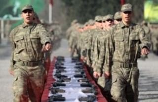 Yeni askerlik sistemi tasarısı yasalaştı: 100...