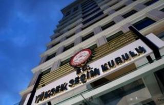 YSK'dan AK Parti'nin 'seçim kurulu'...
