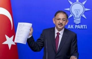 AK Parti'li Özhaseki: Büyükkılıç'ın...