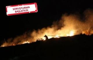 Bir yangın daha: 10 hektar alan zarar gördü