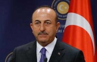 Çavuşoğlu, Kuzey Makedonya'ya resmi ziyarette...