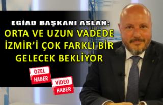 EGİAD Başkanı Aslan, Ben TV'de konuştu
