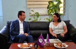 İmamoğlu HDP İstanbul İl Başkanlığı'nı...